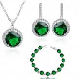 Set Kim lux emerald