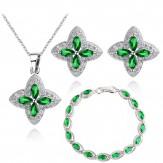 Set Sindi lux emerald