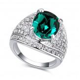Inel Tereza emerald